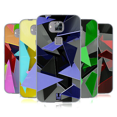 Head Case Designs Glass Fragments Soft Gel Case For Huawei Phones 2