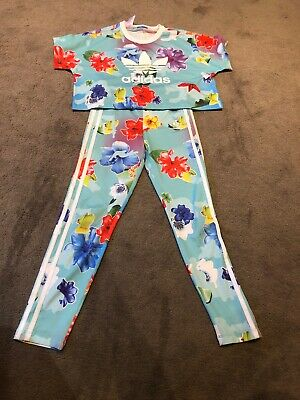 Girls Adidas Outfit Age 9-10 Years
