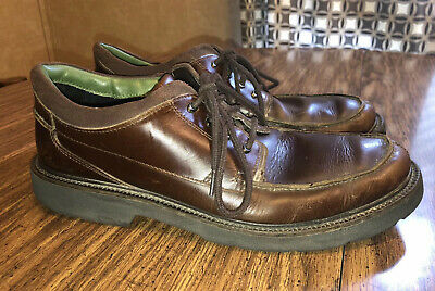 MENS CLARKS LEATHER ACTIVE AIR WATERPROOF LACE UP CASUAL