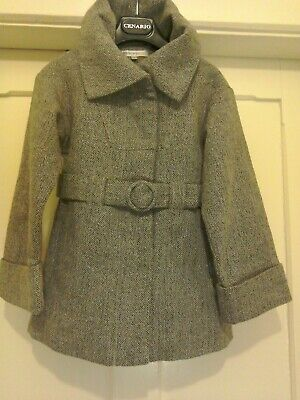 M&S Marks and Spencer Autograph Girls Christmas Coat 5 - 6 years