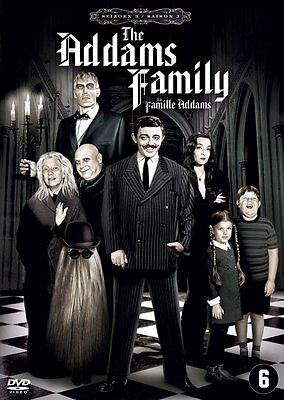 Dvd - The Addams Family  - Seizoen  3  / Season  3  /  Saison  3  (New Sealed)*