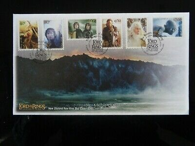 NEW ZEALAND 2003 LORD OF THE RINGS 6v FIRST DAY COVER VGC
