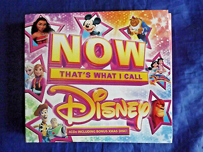 Sony Music Now That's What I Call Disney 4 cds 2017 M FACT