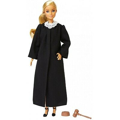 Barbie 2019 Career of the Year JUDGE Doll Long Blonde Hair Girl Mattel FXP42