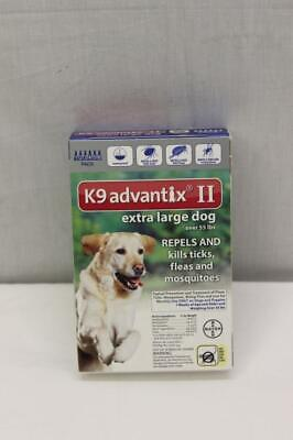 Bayer K9 Advantix II For Extra Large Dogs Over 55 Lbs. 6 Pack NEW!