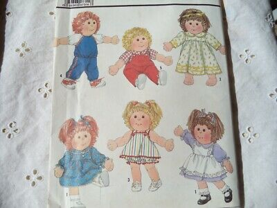 Cabbage Patch Style Doll Clothes Pattern