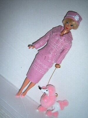 FOR Barbie Silkstone vintage reproduction Career Girl Variation POODLE handmade
