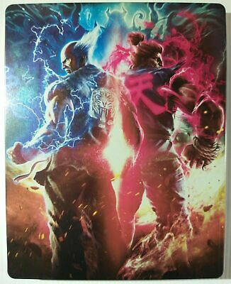 PlayStation 4 PS4 Game: TEKKEN 7 STEELBOOK EDITION ! LIKE NEW ! CHEAPEST !
