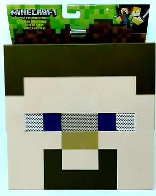 Minecraft Heads Masks Steve Creeper Or Enderman Head 12 X
