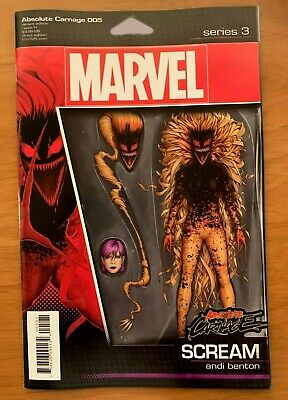 ABSOLUTE CARNAGE 5  JT Christopher Action Figure Variant Marvel 2019 NM+