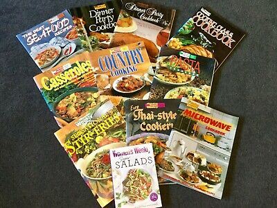 Women's Weekly Vintage 11 Bulk Cookbooks Thai Curry Pasta Casseroles Womens #2