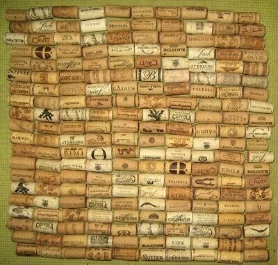 200 Natural Wine Corks, Used. No Synthetic, No Champagne