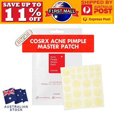 Cosrx Acne Pimple Master Patch 24 Patches Blemish Control Genuine New Sealed