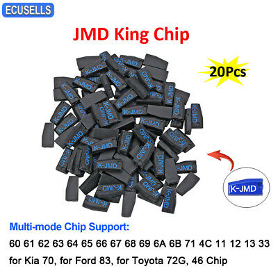 20Pcs JMD King Chip for Handy Baby for 46/48/4C/4D/G Chip for Kia 70 For Ford 83