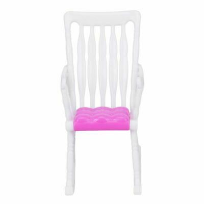 Rocking Chair Sofa Accessories Plastic Furniture Sets For Doll HouseDecorationES