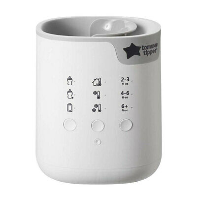 Tommee Tippee All In One Advanced Bottle/Pouch Warmer Feeding Baby Infant Milk