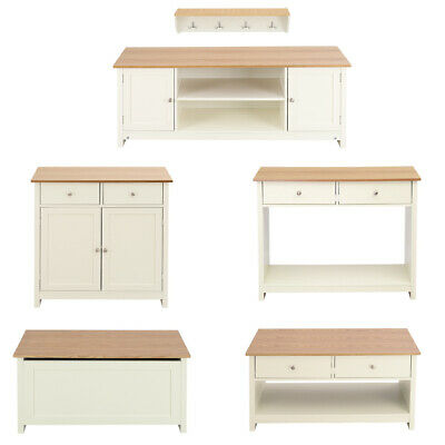Concise Wood TV Unit Chest Drawer Console Table Storage Stool 4 Hooks Wall Racks