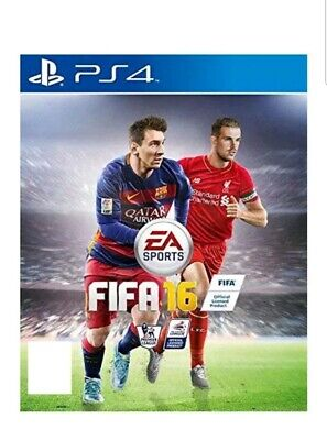 FIFA 16 PS4 (Sony PlayStation 4, 2015) MINT Condition