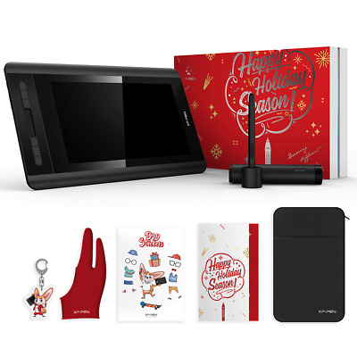 XP-Pen Artist 12 Drawing Tablet Monitor Christmas package present 1920 X 1080