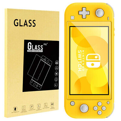 9H + Real Premium Tempered Glass Screen Protector Film for Nintendo Switch Lite