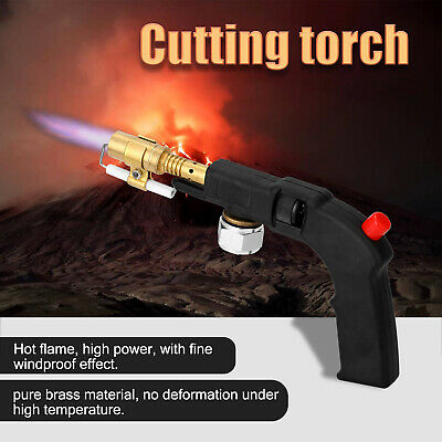 High Power Brass Hot Flame Propane Welding Cutting Torch withStandard Air Inlets