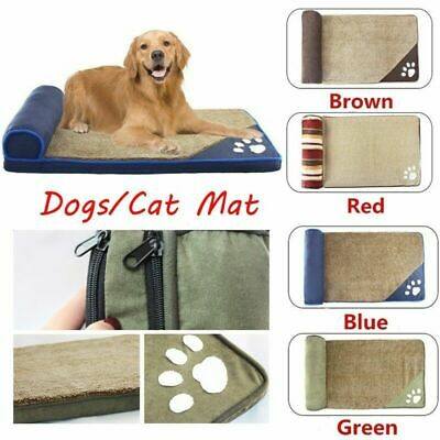 Pet Dog Bed Sofa Kennel Square Pillow for Small Medium Dogs Cat House Bed Mat