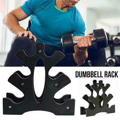 Dumbbell Hex Weights Storage Rack Dumbbells Home Gym Stand Set KG 3-Tier