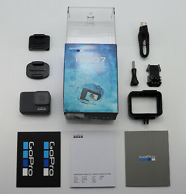Gopro Hero 7 Silver Edition Camcorder Boxed Action Cam 4K / 1080P Video Camera