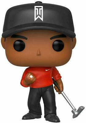 Funko POP! Golf: Tiger Woods (Red Shirt) 44715 BRAND NEW READY TO SHIP