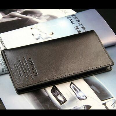 Fashion Pockets Credit Card Holder Bifold Long Wallet Clutch Leather Purse