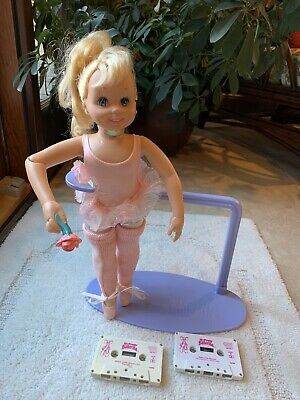 Tyco 1989 My Pretty Ballerina Dancing Doll Vintage with slippers