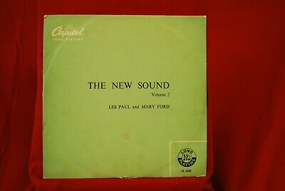 """Les Paul / Mary Ford - The New Sound - LC6581 - 10"""" Vinyl"""