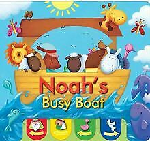 Noah's Busy Boat (Candle Peek a Boo) (Hide and Seek) de Ju... | Livre | état bon