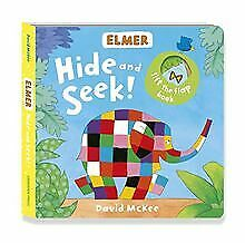 Elmer: Hide and Seek! de McKee, David | Livre | état très bon