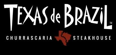 $250 Texas De Brazil Steakhouse Gift Card