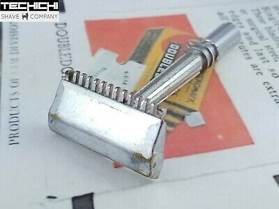 GEM Micromatic Open Comb Vintage Single Edge Safety Razor