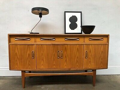 Vintage 1960S G Plan Fresco Teak Sideboard. Retro Danish. DELIVERY AVAILABLE