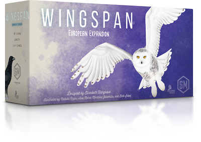 IN HAND, FAST SHIP, Wingspan European Expansion Board Game, Stonemaier, NEW