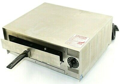 Wisco Pizza Pal Counter Top Stainless Steel Electric Commercial Pizza Oven 412-3