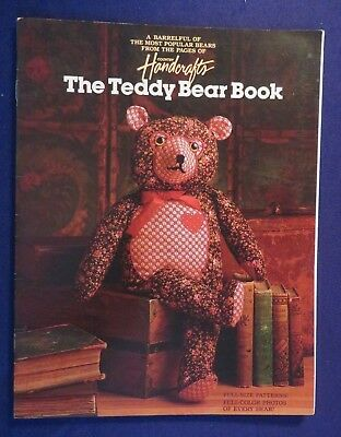 1985 THE TEDDY BEAR BOOK by COUNTRY HANDCRAFTS Instruction Magazine
