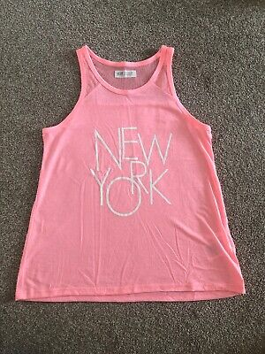 Sport Top Age 12-14 Yrs (New York Wording To Front)