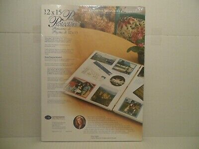 THE CREATIVE MEMORIES COLLECTION 12x15 Page Protectors 16 sheets/32 pages (2002)