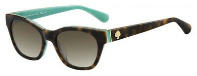 NEW Kate Spade KS Cindra Sunglasses 0PJP Blue 100/% AUTHENTIC
