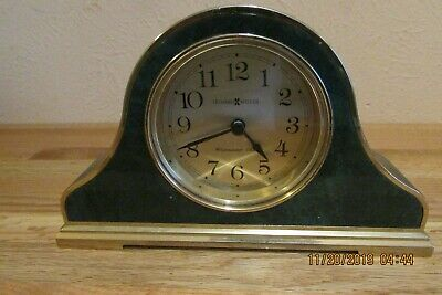 Howard Miller Mantle Westminister Chimes Clock - Green & Gold