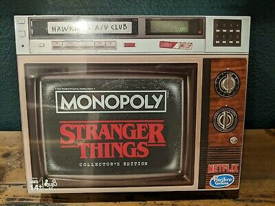 Stranger Things Collector's Edition Monopoly NEW