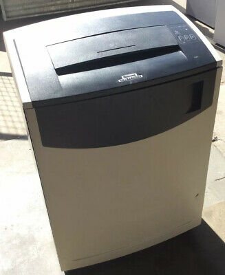 "Fellows C-480C Shredder - Secure Cross Cut, Extra Wide 16"" A3, 24 Pages at Once"