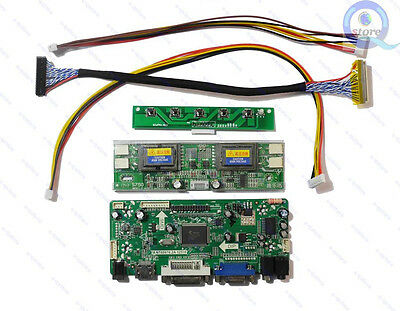 (HDMI+DVI+VGA) LCD Driver Board Lvds Inverter Kit for Panel LTM230HT01 1920X1080