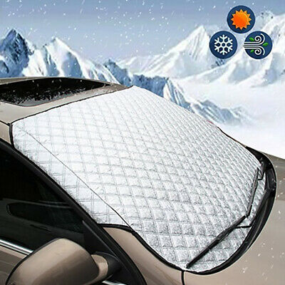 Car Windshield Snow Cover Winter Ice Frost Guard Sunshade Protector HOT SALE