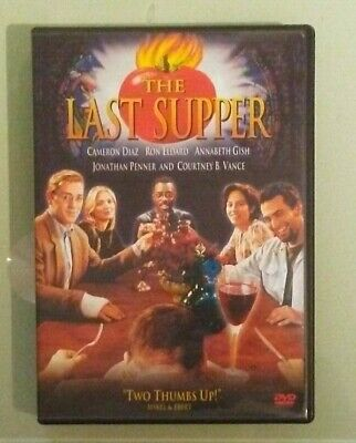cameron diaz THE LAST SUPPER  mark harmon / bill paxton   DVD genuine region 1