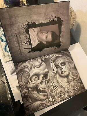 Tattoo Art Book with Black and Grey Finest Designs Lots of professional art